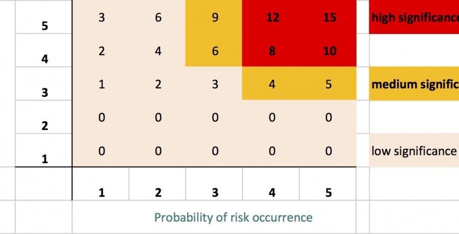 Risk analysis - risk significance