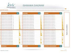 Ishikawa diagram - fish bone