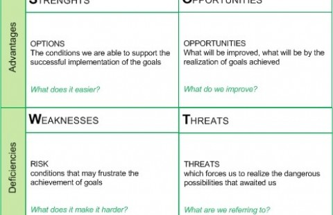 SWOT analysis for public authorities